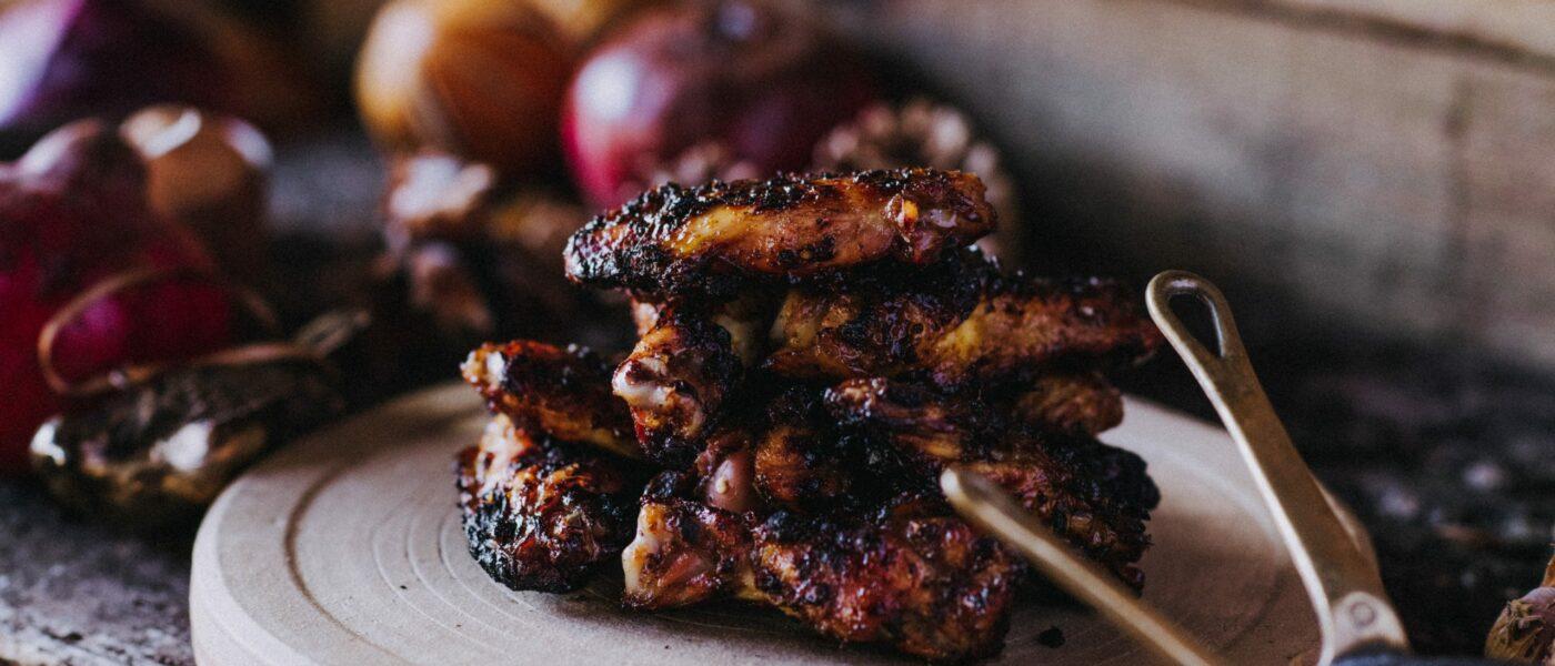 Pipers Farm | chicken wings | photo by Matt Austin
