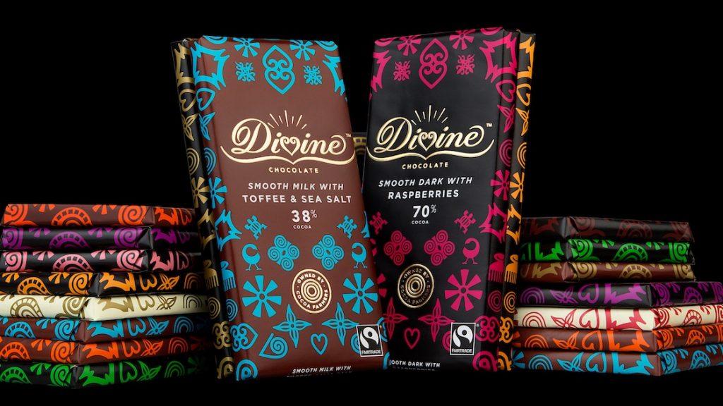 fairtrade chocolate brand   divine chocolate