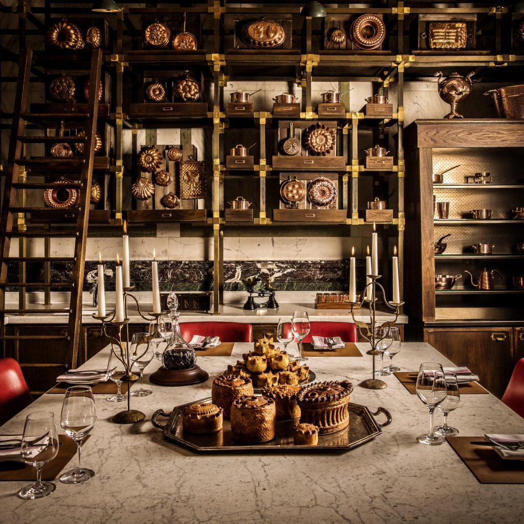 Restaurants serving game meat | Holborn Dining Room | Pies in the Pie Room | John Carey