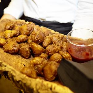 Restaurants serving game meat   Partridge popcorn at Rabbit