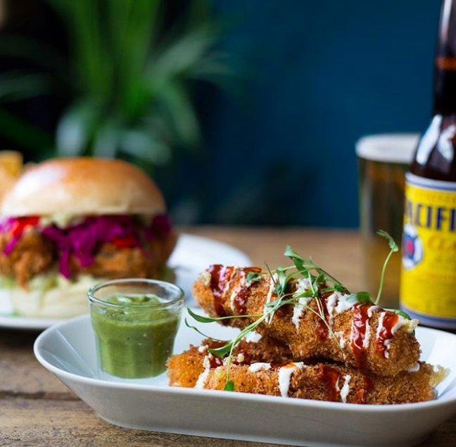 Best vegan restaurants London   Club Mexicana food at the Spread Eagle