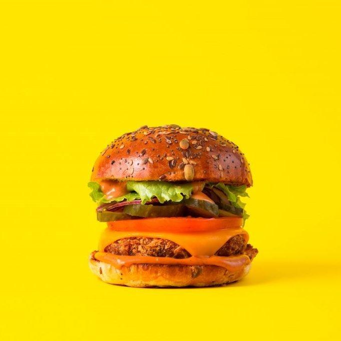 What is Jackfruit?   Burger at Biff's Jack Shack
