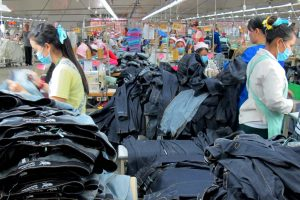 Coronavirus and the fashion industry | Jeans Factory in Cambodia