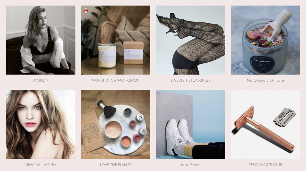 Underwear | beauty products | candles | One Small Shop