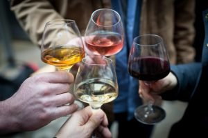 RAW Wine Fair | glasses of wine