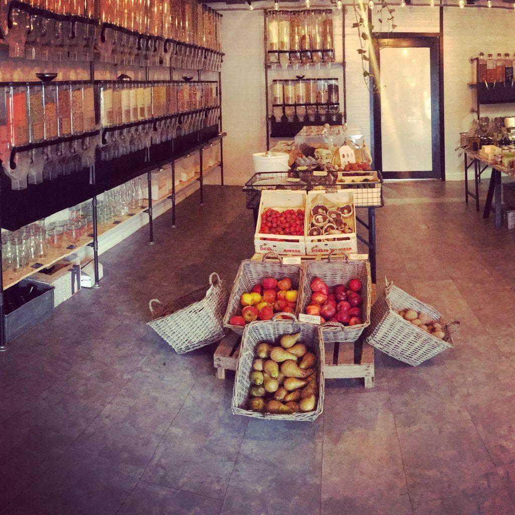plastic free shops in London | inside Bulk Market