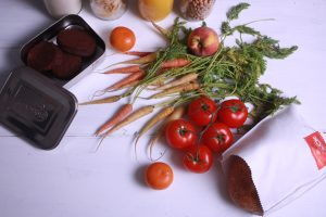 plastic free shops in London   loose vegetables from Bulk Market