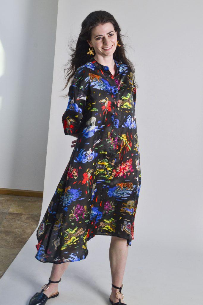 Endangered Shirt Dress