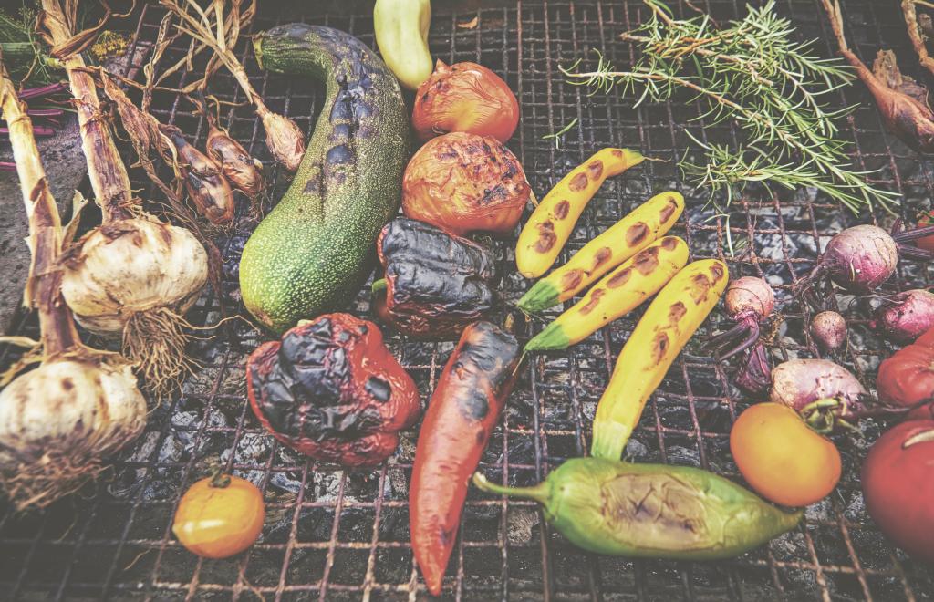 Tom Hunt | BBQ vegetables