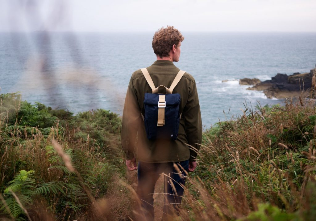 The Level Collective | Winnats roll top mini backpack