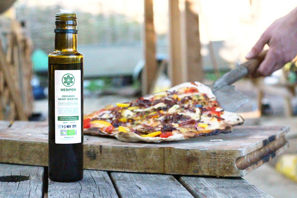 Hempen | Hemp Seed oil | Pizza