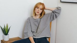 Vildnis jumper and jeans