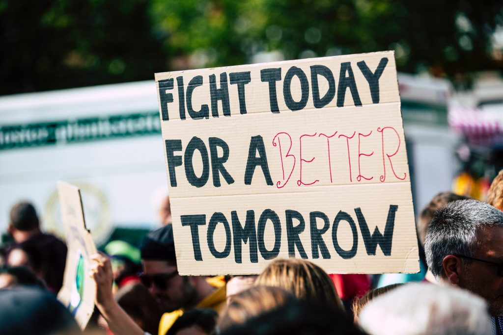 How to be more sustainable | Protest