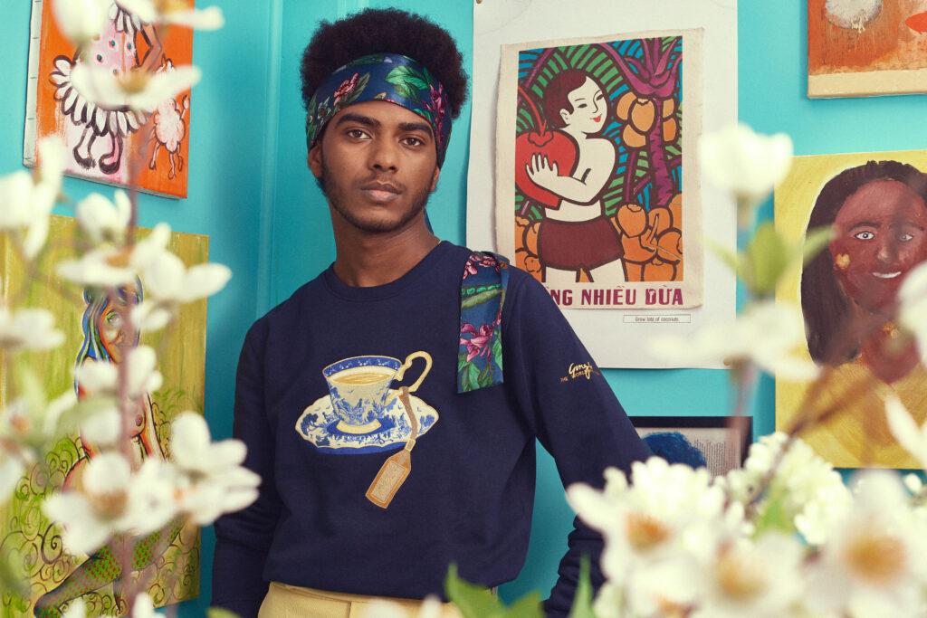 Gung Ho x The Worldwide Tribe Mez_s Sweatshirt