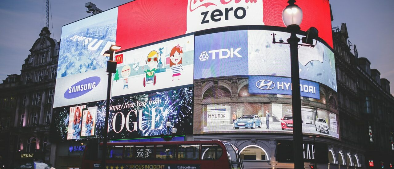 The truth about advertising: Piccadilly Circus bill boards