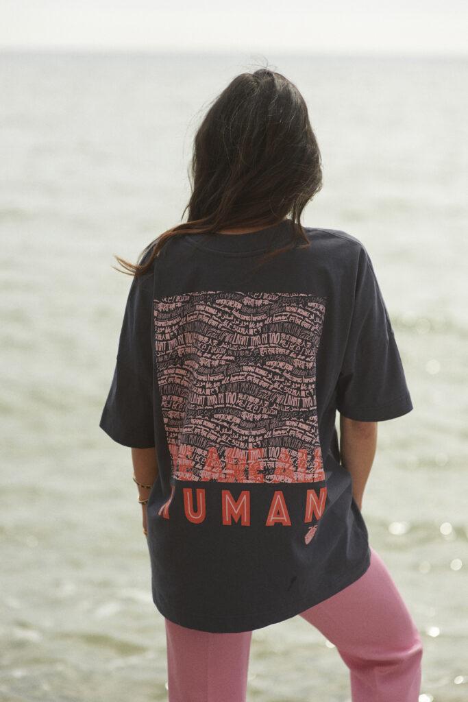 Gung Ho London's Worldwide Tribe organic t-shirt
