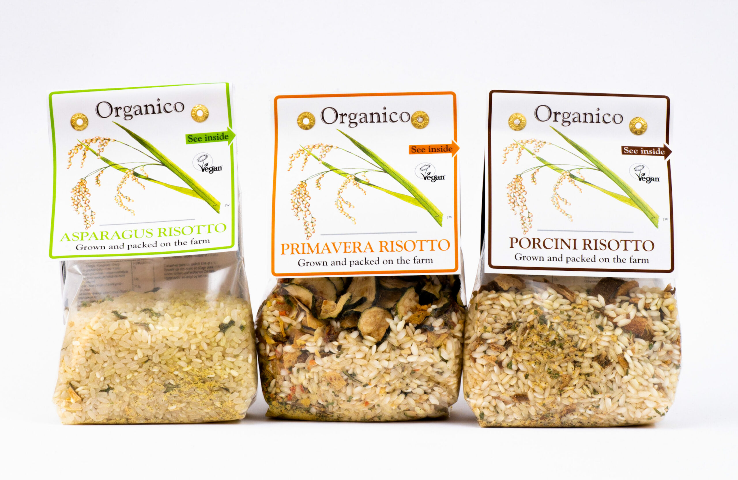 Organic brand: Organico rice