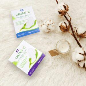 Organyc eco-friendly period pads
